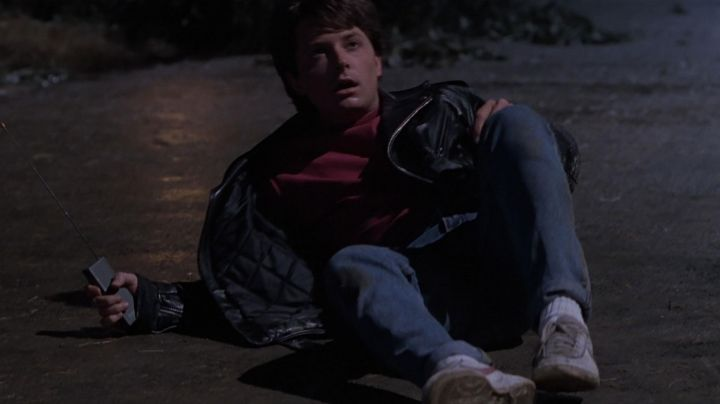 Fashion Trends 2021: The Nike Bruin Marty McFly (Michael J. Fox) in Back to the future II