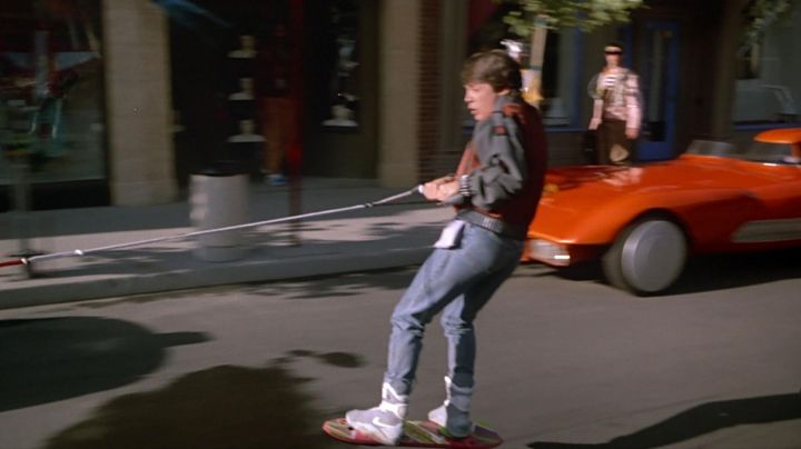 Fashion Trends 2021: The Nike of the future by Marty McFly (Michael J. Fox) in Back to the Future II
