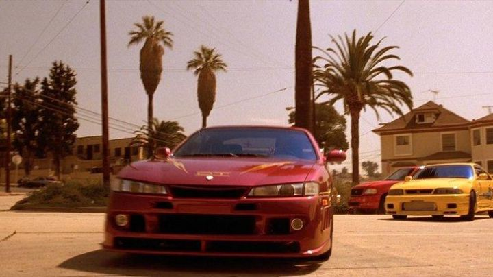 The Nissan 240SX of Letty Toretto (Michelle Rodriguez) in The Fast and The Furious - Movie Outfits and Products