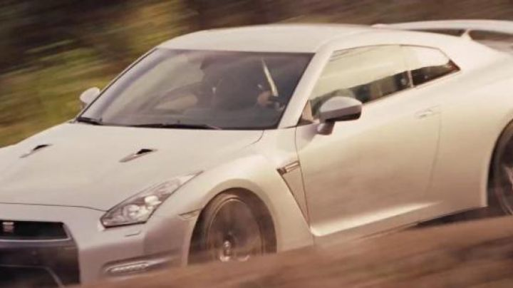 The Nissan GT-R of Brian O'conner (Paul Walker) in Fast & Furious 6 - Movie Outfits and Products