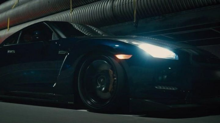 The Nissan GT-R of Brian O'conner (Paul Walker) in Fast & Furious 7