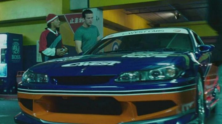 The Nissan Silvia of Sean Boswell (Lucas Black) in The Fast and The Furious: Tokyo Drift - Movie Outfits and Products
