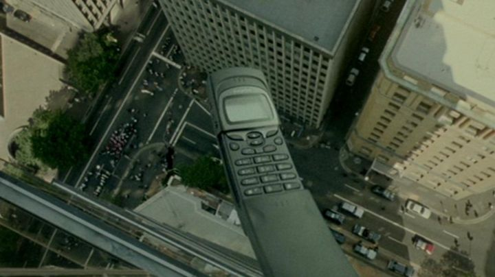 The Nokia 8110 Matrix - Movie Outfits and Products