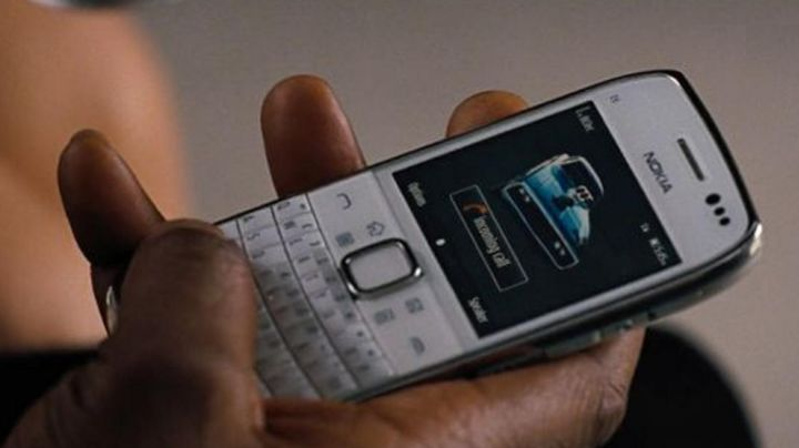 The Nokia mobile phone is seen in Fast & Furious 6 - Movie Outfits and Products
