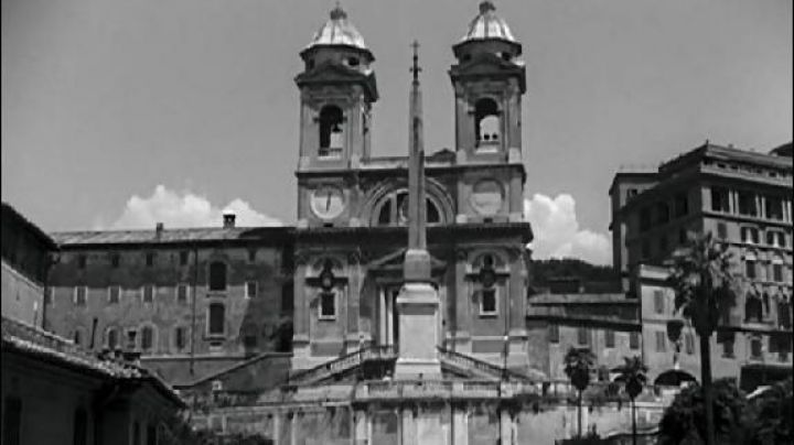 The Obelisk Sallustiano Rome in roman Holiday - Movie Outfits and Products