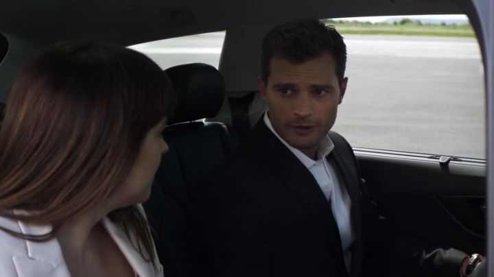 The Omega watch Christian Grey (Jamie Dornan) in Fifty shades lighter - Movie Outfits and Products