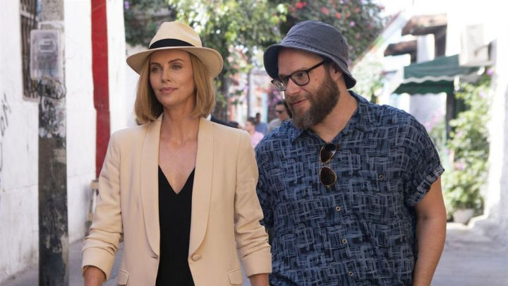 The Panama hat Charlotte Field (Charlize Theron) in Seduce me if you can ! Movie