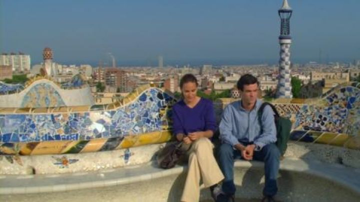 The Park Güell in Spain in The hostel Spanish - Movie Outfits and Products