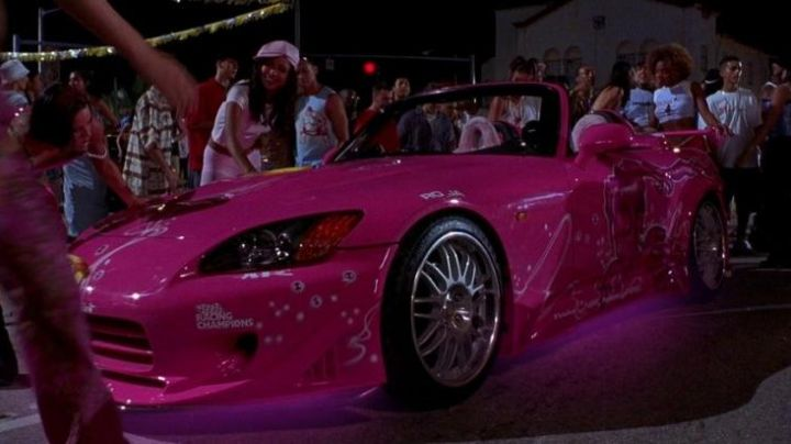 The Pink Honda S 2000 in 2 Fast 2 Furious - Movie Outfits and Products
