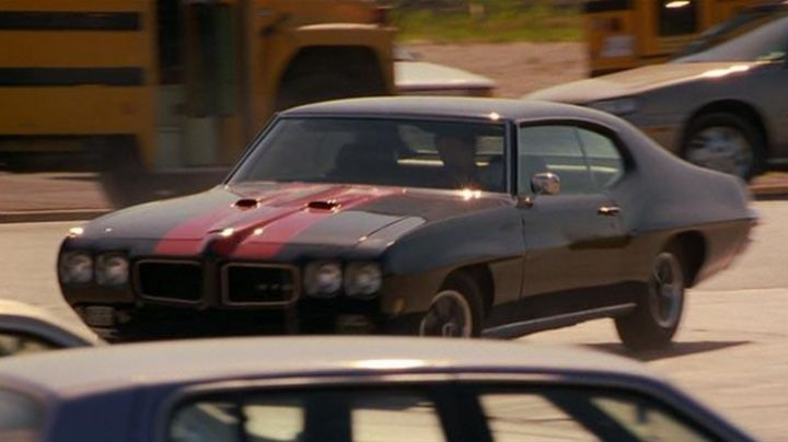 The Pontiac GTO in The Faculty - Movie Outfits and Products