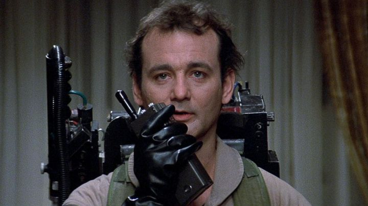 Fashion Trends 2021: The Proton Pack from Dr. Peter Venkman (Bill Murray) in SOS Ghosts