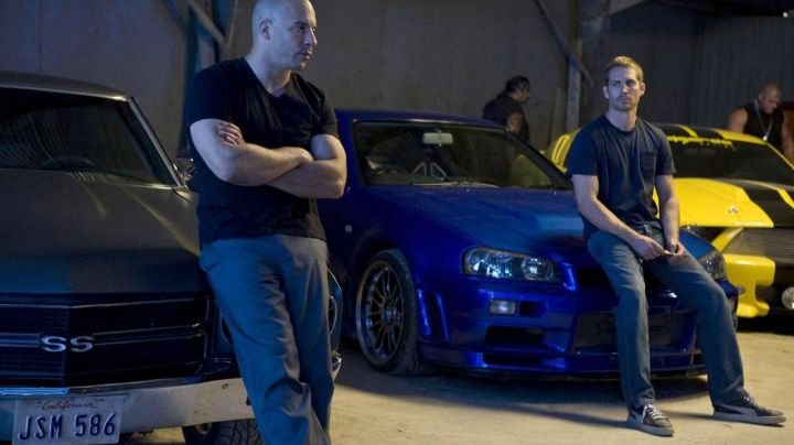 The Puma Suede shoes black-Brian O'conner (Paul Walker) in Fast & the Furious 4 - Movie Outfits and Products