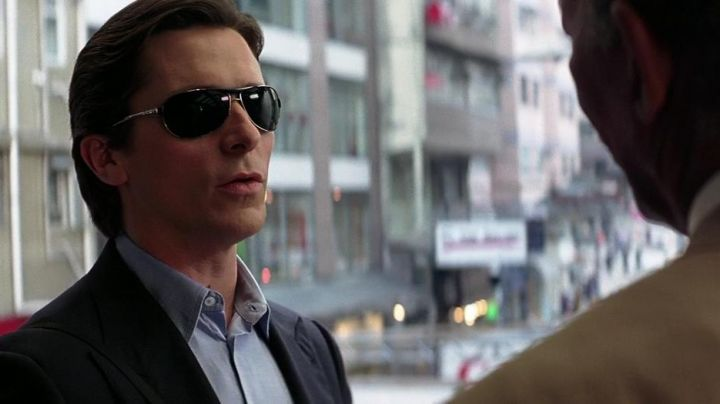 The Ray Ban RB3324 Bruce Wayne (Christian Bale) in The Dark Knight movie