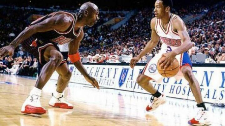 The Reebok Question Allen Iverson White/​Red in Alle Iverson: The Answer - Movie Outfits and Products