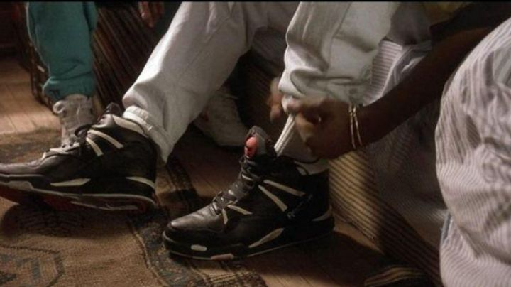 The Reebok shoes black 2pac in Juice - Movie Outfits and Products