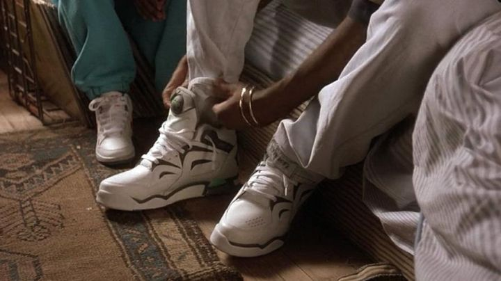 The Reebok shoes white Tupac in Juice - Movie Outfits and Products