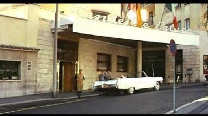 The Residence Palace of Rome (renamed The Duke Hotel in 2000) in the film le Corniaud - Movie Outfits and Products