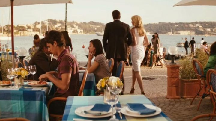 The Restaurant the daughter of a fisherman in Villefranche sur mer in Kiss & Kill (Katherine Heigl and Ashton Kutcher) - Movie Outfits and Products