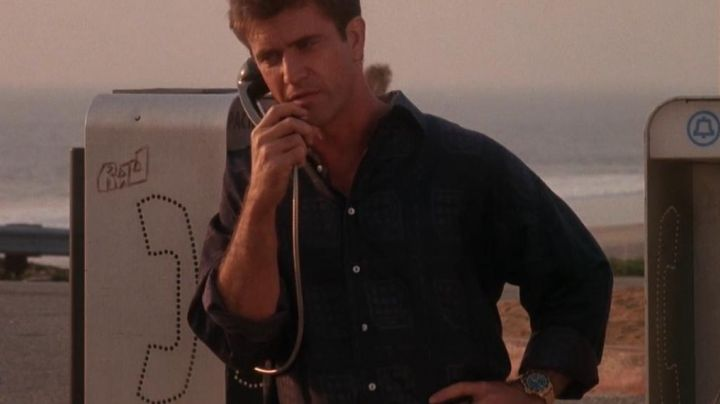 The Rolex watch Submariner of Dale McKussic / Mac (Mel Gibson) in Tequila Sunrise - Movie Outfits and Products