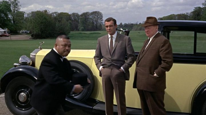 The Rolls Royce Phantom III of Gert Fröbe in Goldfinger - Movie Outfits and Products