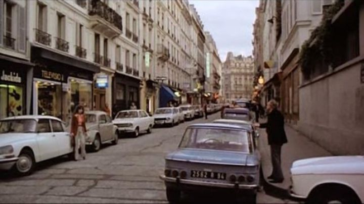 The Rue Brea and Rue Vavin in The last Tango in Paris - Movie Outfits and Products