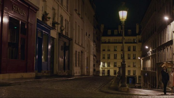 The Rue Malebranche in Paris in Under the skirts of girls