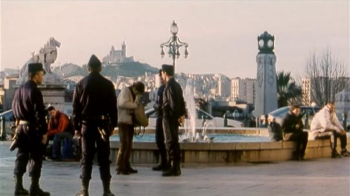 The Staircase to Saint-Charles Station in Marseille in the film Nénette and Boni - Movie Outfits and Products