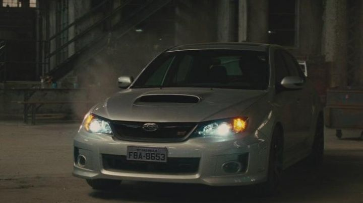 The Subaru Impreza of Han (Sung Kang) in Fast & the Furious 5 - Movie Outfits and Products