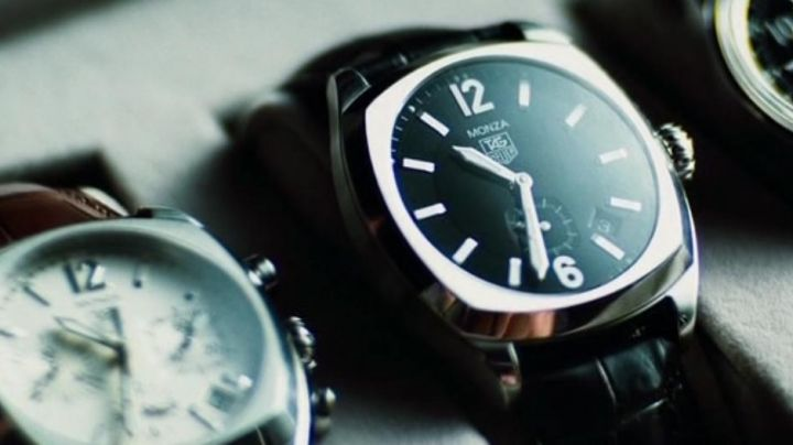 The TAG Heuer Monza in The Island movie