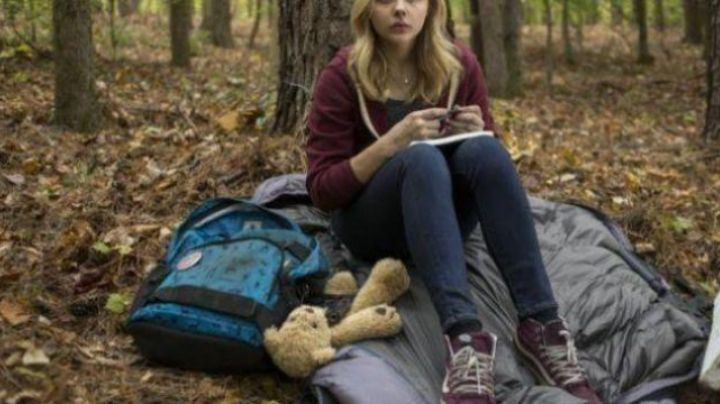 The Vans shoes SK8 Hi Cassie Sullivan in The 5th wave - Movie Outfits and Products