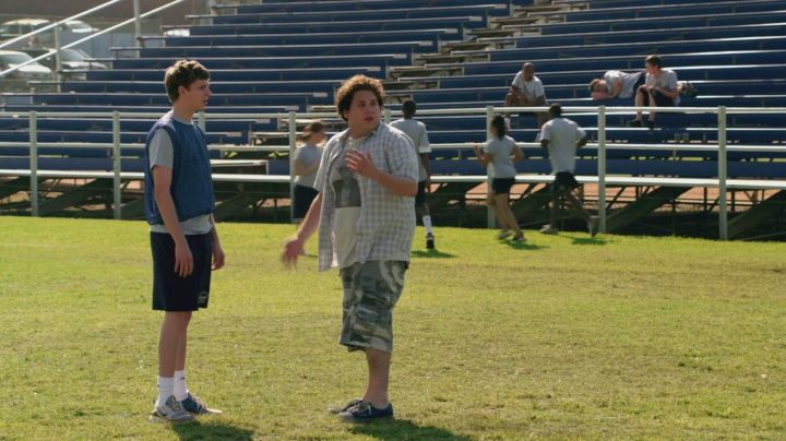 The Vans shoes of Seth (Jonah Hill) in Supergrave / Superbad - Movie Outfits and Products