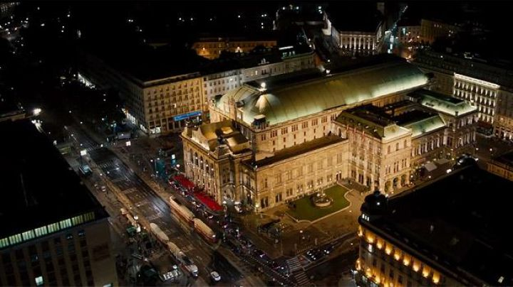 The Vienna Opera house in Austria in Mission Impossible - Rogue Nation - Movie Outfits and Products