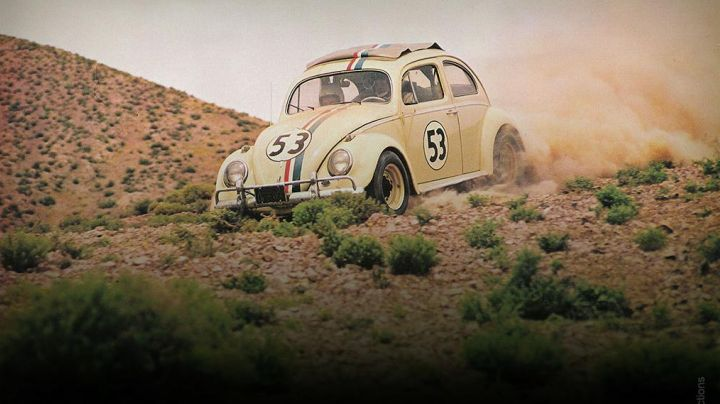 The Volkswagen Beetle in The Love bug - Movie Outfits and Products