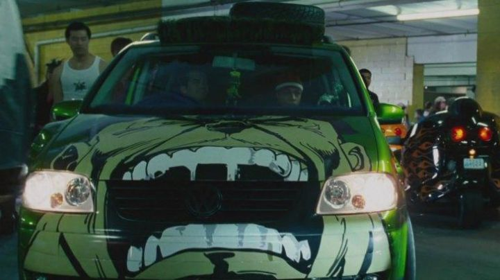 The Volkswagen Touran of Twinkie (Bow wow) in The Fast and The Furious: Tokyo Drift - Movie Outfits and Products