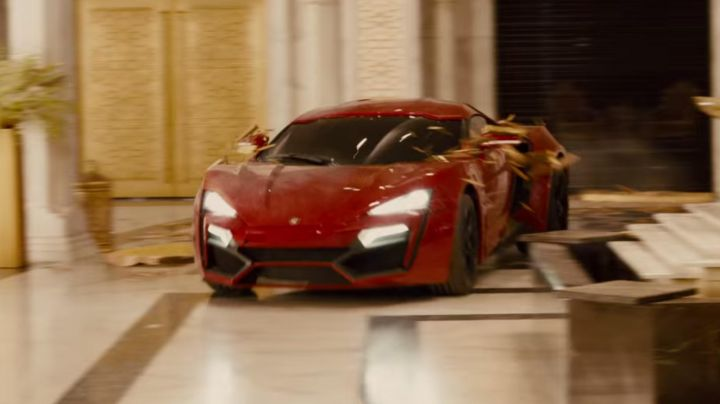 The W Motors Lykan Hypersport of Dominic Toretto in Fast & Furious 7 - Movie Outfits and Products