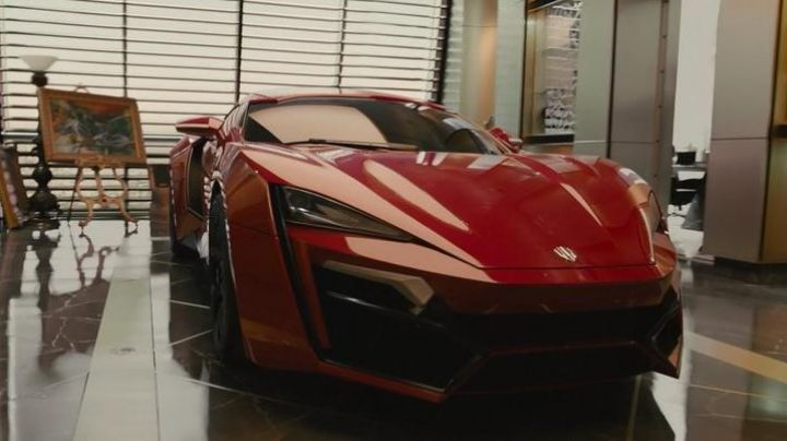 The W Motors of Jordanian prince in Fast & Furious 7 - Movie Outfits and Products