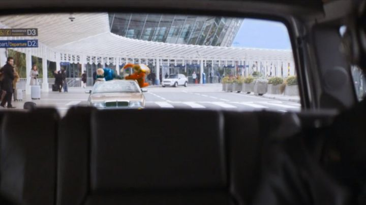 The airport of Nice, in The adventures of Spirou and Fantasio - Movie Outfits and Products