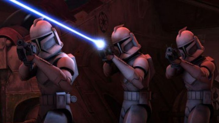 The armor of the Clone Trooper in Star Wars : The Clone Wars - Movie Outfits and Products