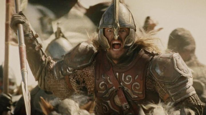 The armour of Eomer (Karl Urban) in the Lord of The rings 2 : The two towers - Movie Outfits and Products