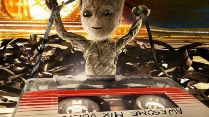 The audio cassette in Guardians of the Galaxy Vol.2 - Movie Outfits and Products