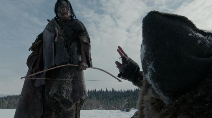 The authentic arc of Hikuc (Arthur Redcloud) in The Revenant movie