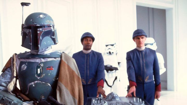 The authentic blue uniform of the guards of Bespin in Star Wars V : The empire against attack - Movie Outfits and Products