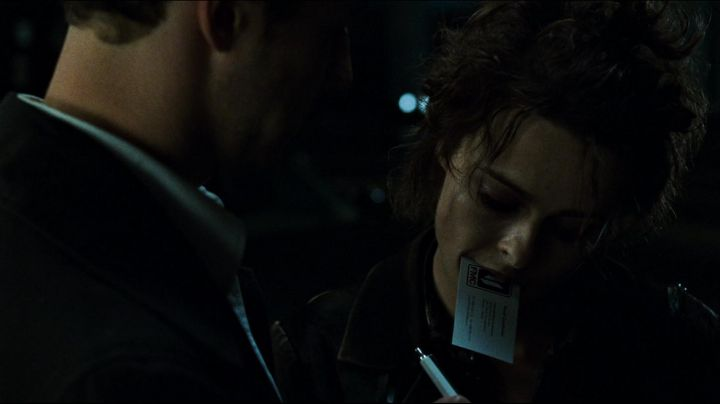 The authentic calling card of the narrator (Edward Norton) in Fight Club movie