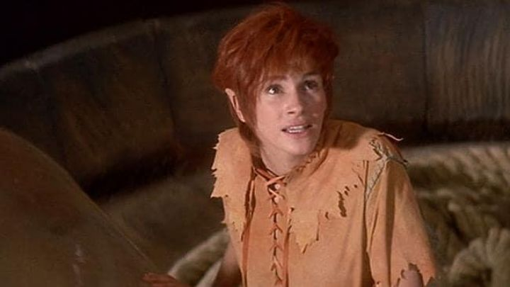 The authentic costume of Tinkerbell (Julia Roberts) in Hook or the revenge of captain Hook Movie