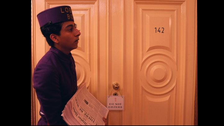 The authentic log 'Trans-Alpine Yodel' in The Grand Budapest Hotel movie