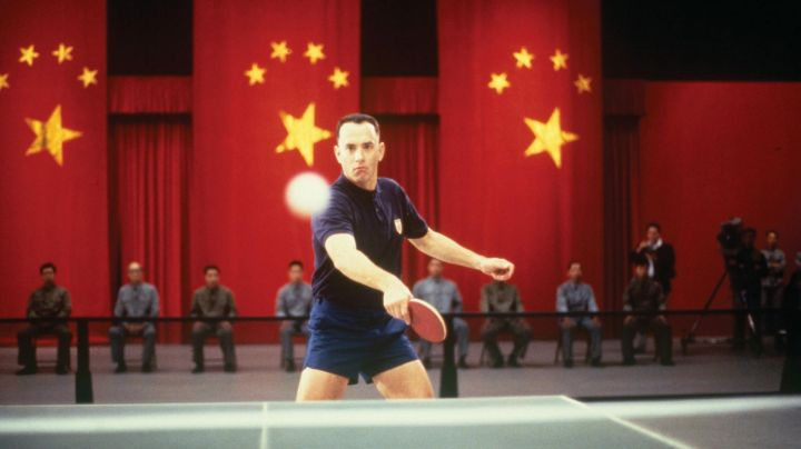 The authentic racket ping pong from Forrest Gump (Tom Hanks) in Forrest Gump - Movie Outfits and Products