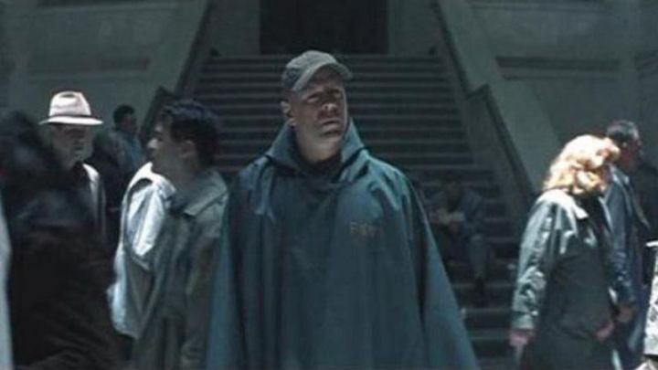 The authentic security poncho from David Dunn (Bruce Willis) in Unbreakable Movie