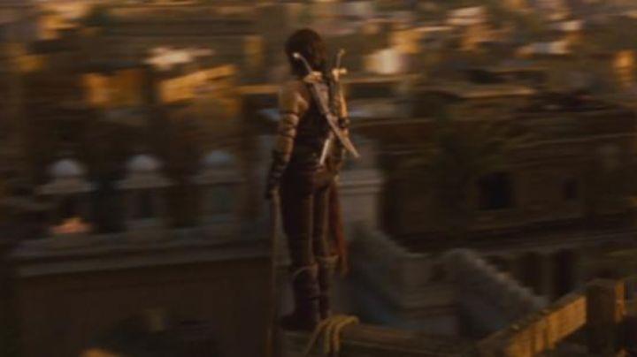 The authentic swords of Prince Dastan (Jake Gyllenhaal) in Prince of Persia movie