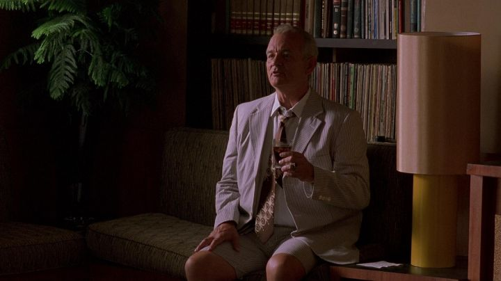 The authentic ties of the writer (Bill Murray) in Farewell Cuba - Movie Outfits and Products