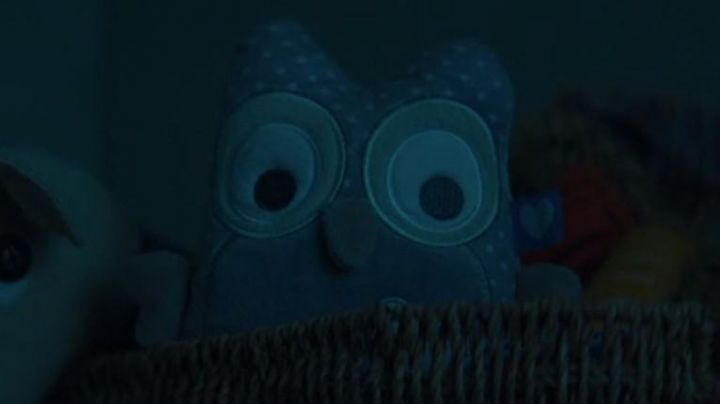 The baby owl seen in the movie Baby phone - Movie Outfits and Products